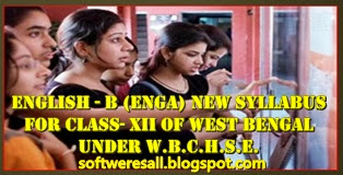 English - B (ENGA) New Syllabus for Class- XII of West Bengal