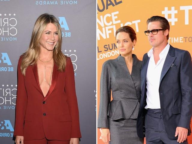 Jen Aniston: Why She Fled LA After Angelina Jolie Filed For Divorce