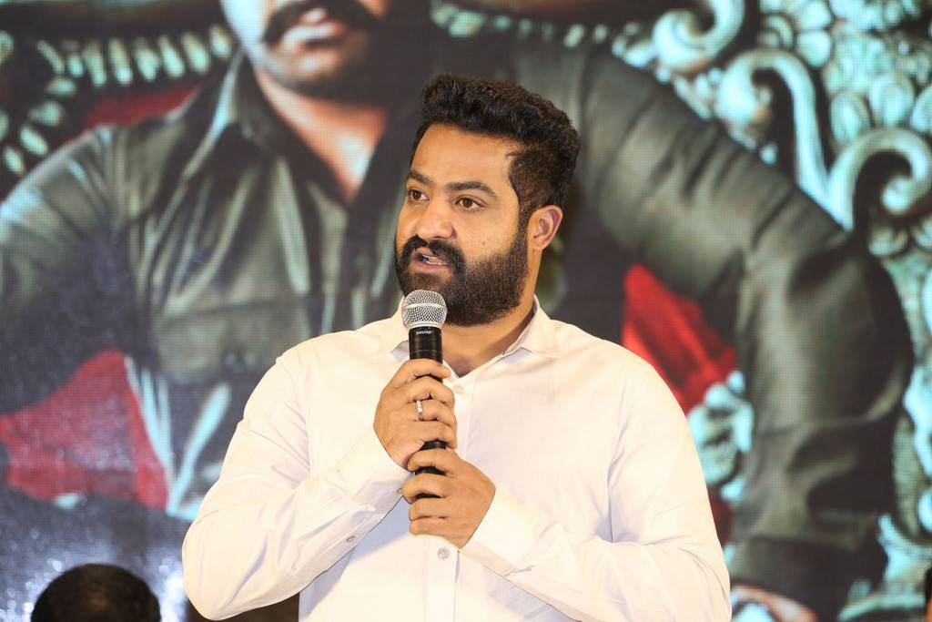 Jr NTR At Jai Lava Kusa Movie Jayotsavam Pics