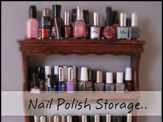 Another nail polish storage idea...