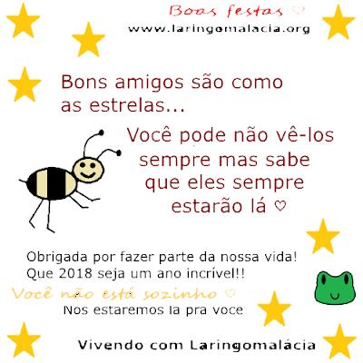 Laringomalácia, Natal, Ano Novo