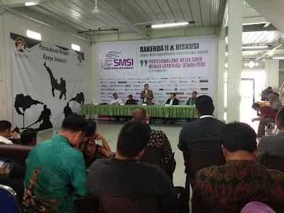 Kadis Kominfo Lampung Berharap Media Siber Penuhi Standar Dewan Pers