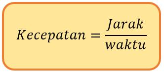 Matematika SD  Menentukan Jarak, Waktu dan Kecepatan Dilengkapi dengan Contoh Soal dan