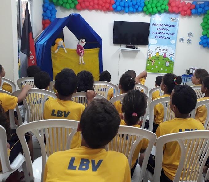 LBV: Consumo Consciente é tema de atividades para as crianças da LBV em JP.