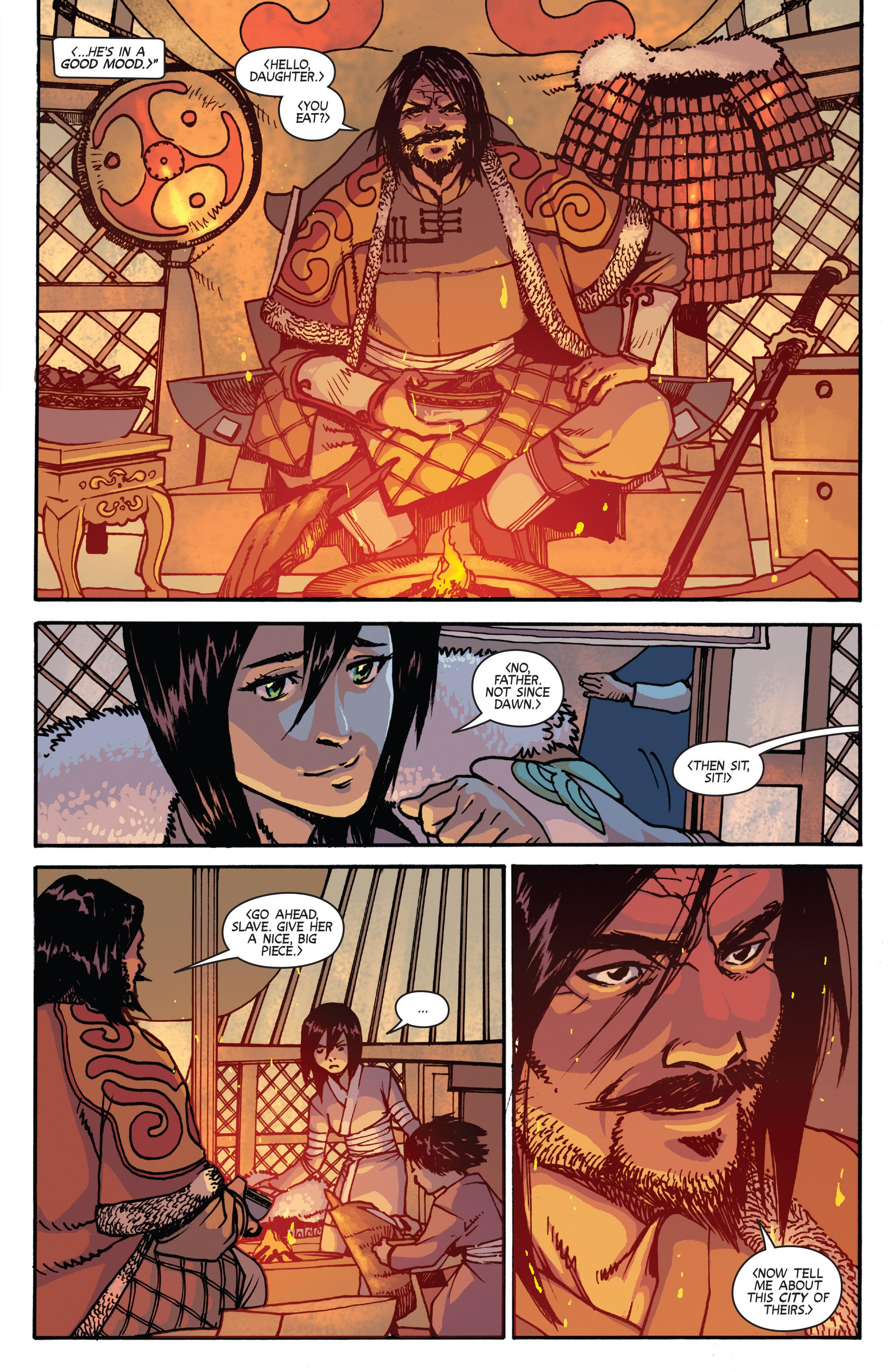 Read online Turok: Dinosaur Hunter (2014) comic -  Issue # _TPB 2 - 53