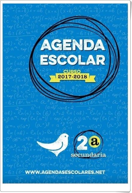 """""""Agenda Escolar 2017-2018 de Educación Secundaria"""""""