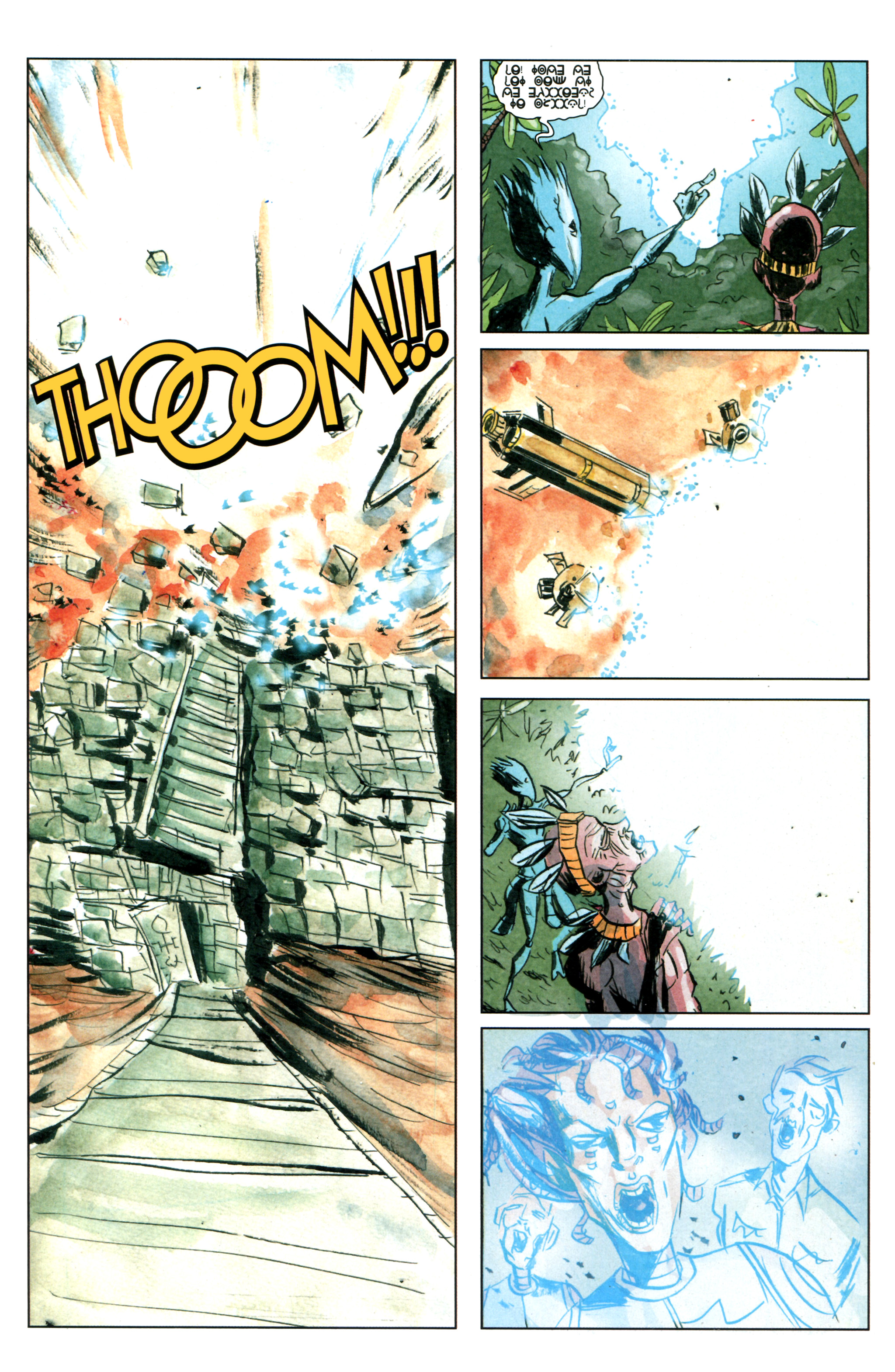 Read online Trillium comic -  Issue #4 - 19