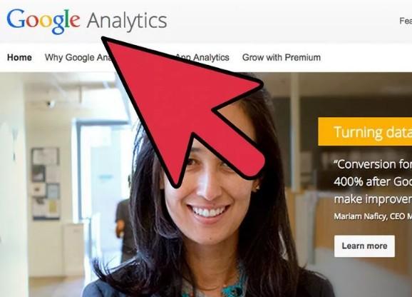 الدخول لحساب جوجل أناليتكس
