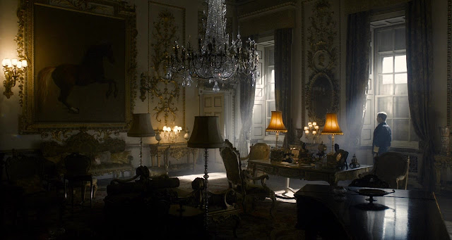 Screen Shot From The Darkest Hour - Showing the Beautiful Atmospheric Lighting