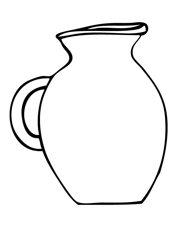 j for jug coloring pages - photo #23