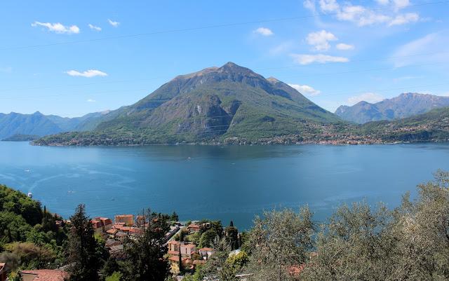 Vistas desde el castillo de Vezio. Lago de Como