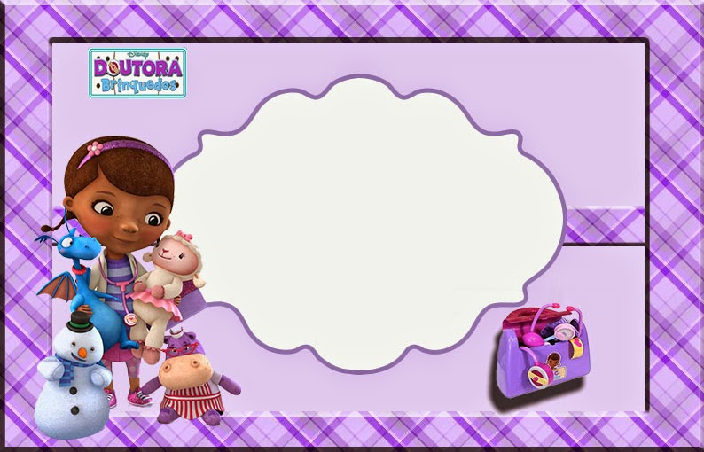 Doc Mcstuffins Free Printable Invitation Cards Or Photo Frames