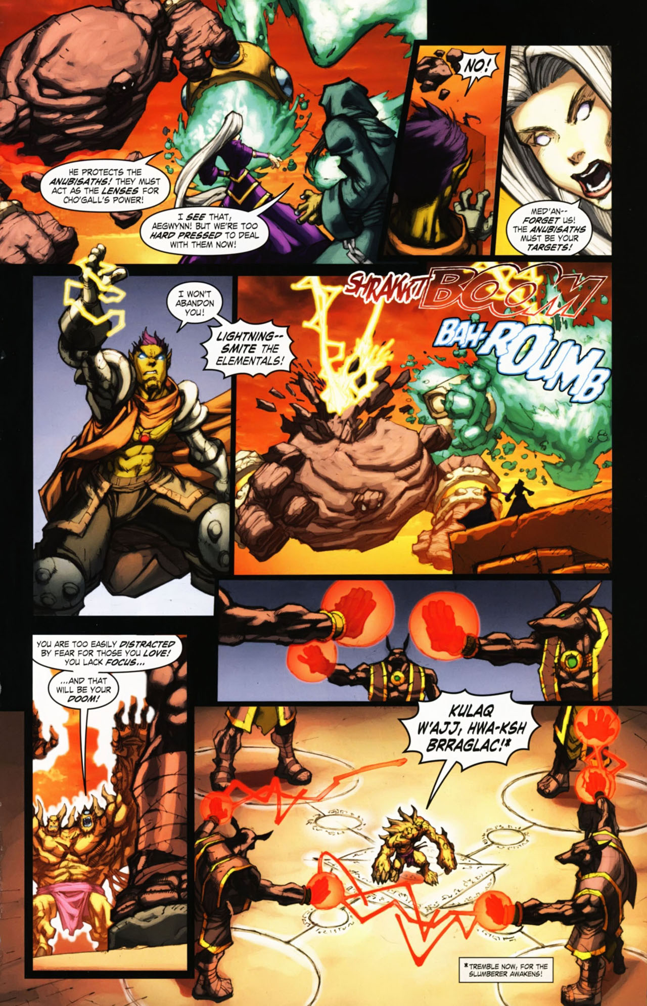 Read online World of Warcraft comic -  Issue #25 - 18