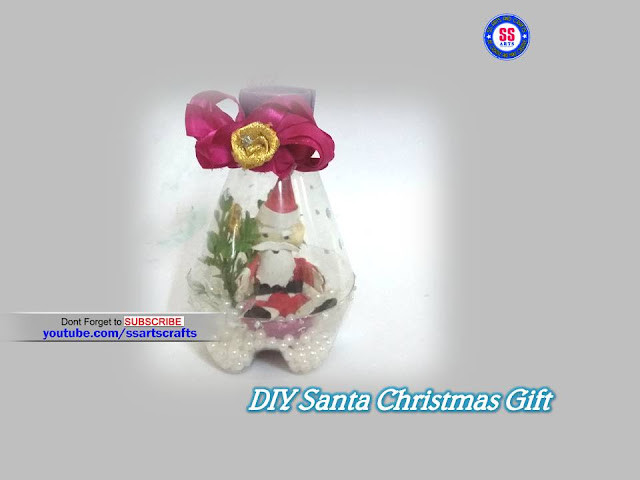 Here is best out of waste,christmas crafts,recycled crafts,recycled crafts,christmas decorations,christmas gifts,how to make christmas ornaments,how to make christmas wall decoration ideas,how to make plastic bottle santa making,how to make plastic bottle christmas ornaments,how to make diy christmas santa gifts ornaments decorations nandurilakshmi youtube channel videos