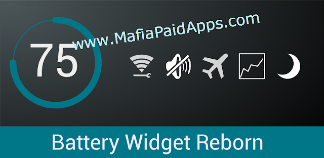 Battery Widget Reborn 2017 v2.6.2/PRO b189 [Patched] Apk for Android