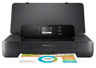 Portable printers this 1 fits into a pocketbook or backpack is stimulate to hold upward taken anywhere yo HP OfficeJet 200 Mobile Printer Driver Download
