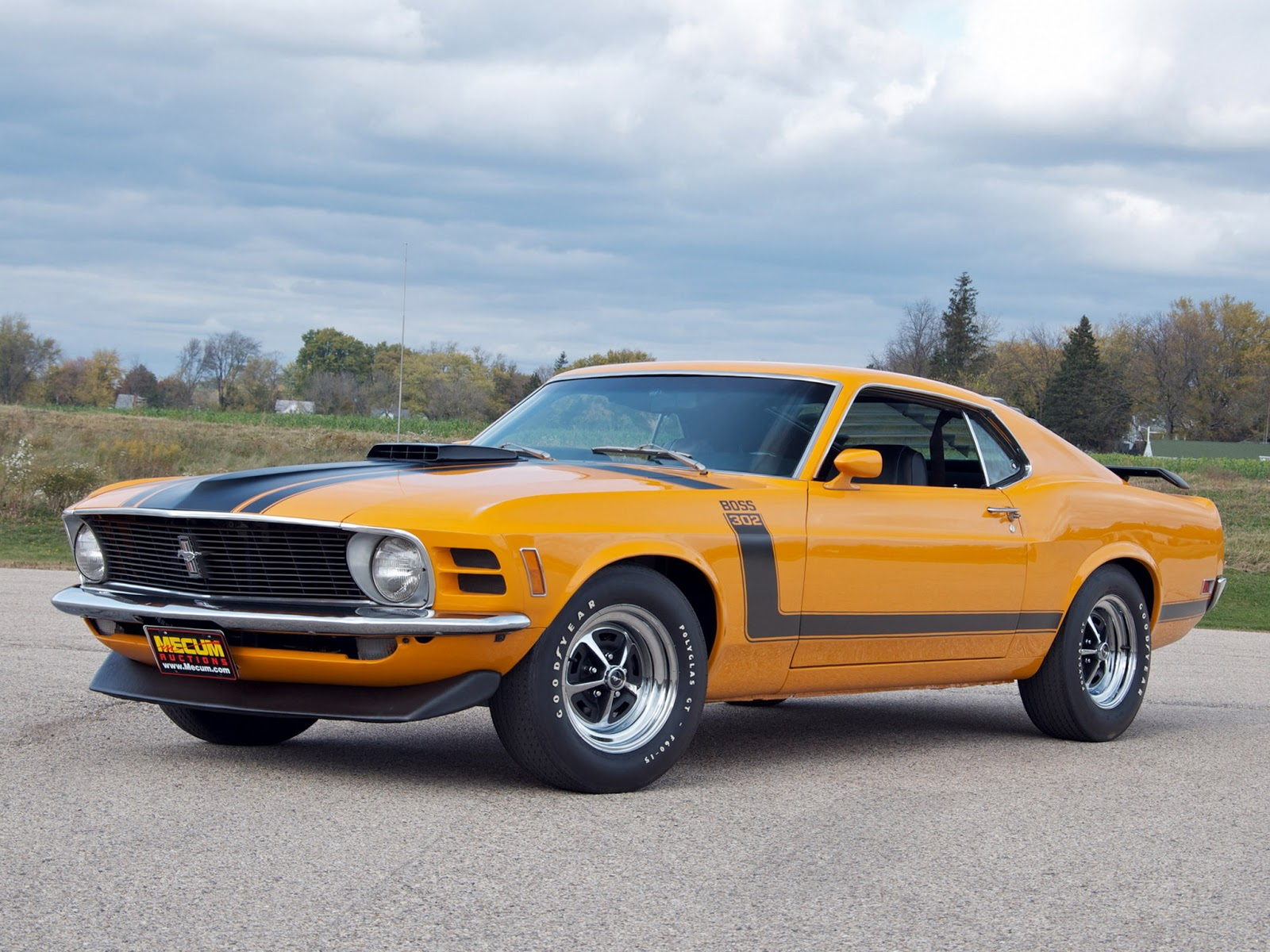 1970 Ford Mustang Boss 302 Profile and history