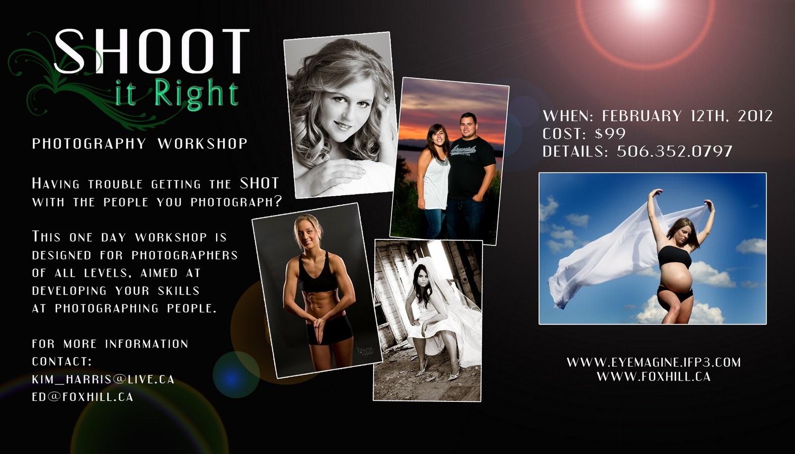 Shoot Photography Workshops: Eyemagine Photography