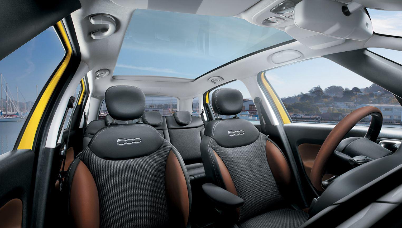 Dimensioni degli interni di Fiat 500L Trekking