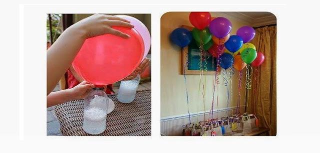 Como encher balões em casa - Substituindo o Gás Hélio