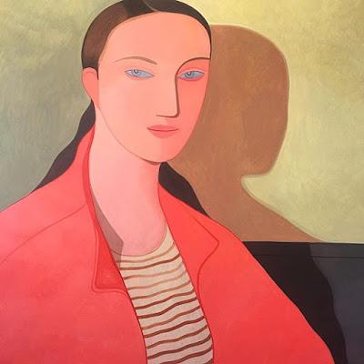 Kelly Beeman arte | dibujo en acuarela de mujer | retrato