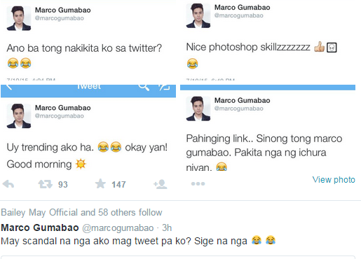 Marco Gumabao photo scandal