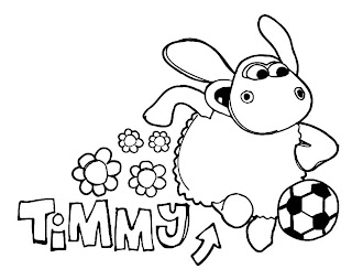 Timmy Time para Colorir