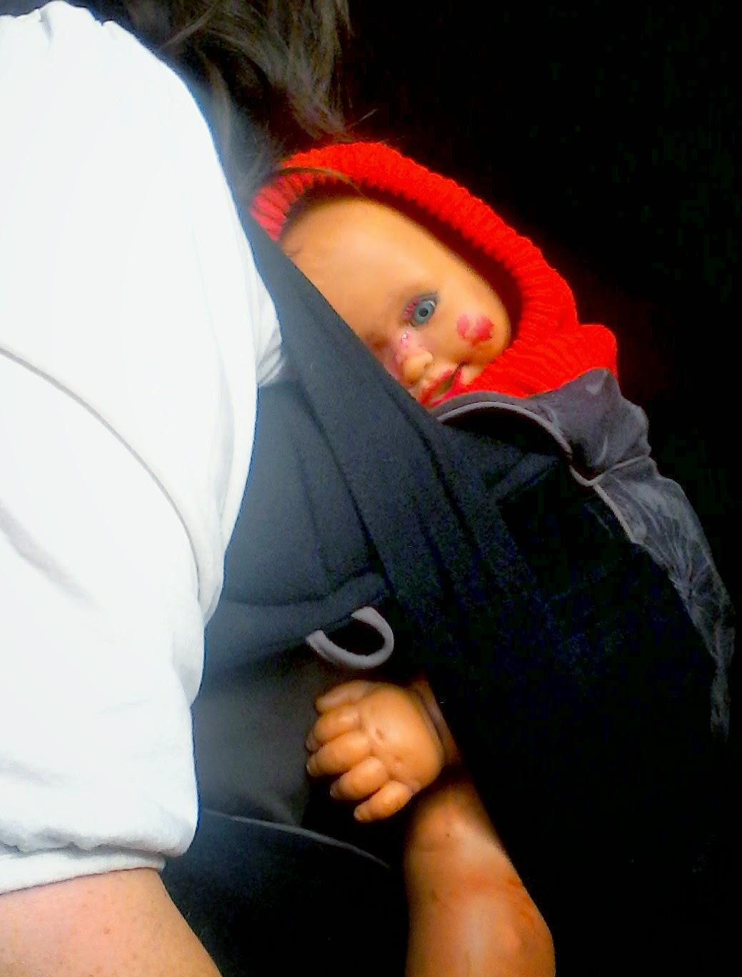 portage bondolino porte-bébé préformé hybride Hoppediz