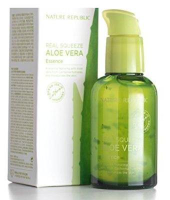 Nature Republic Real Squeeze Aloe Vera Essence Review | Healthbiztips