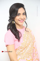 Actress Ritu Varma Pos in Beautiful Pink Anarkali Dress at at Keshava Movie Interview .COM 0358.JPG