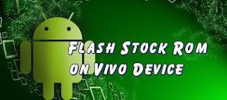 Cara Flash Firmware Vivo E1T