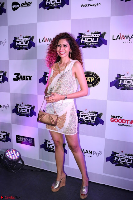 Pre Celetion Of India Premiere Edm Holi Festival With Many Bollywood Celebrities   9th March 2017 001.JPG