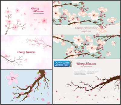 5-nen-do-hoa-canh-hoa-dao-no-hoa-mua-xuan-cherry-branches-vector-7514