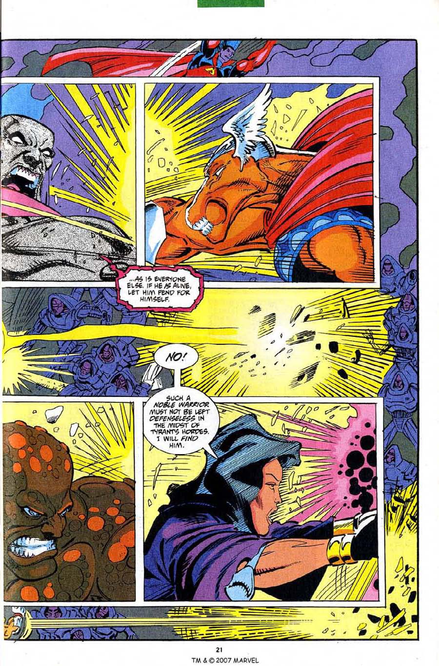 Read online Silver Surfer (1987) comic -  Issue #82 - 23
