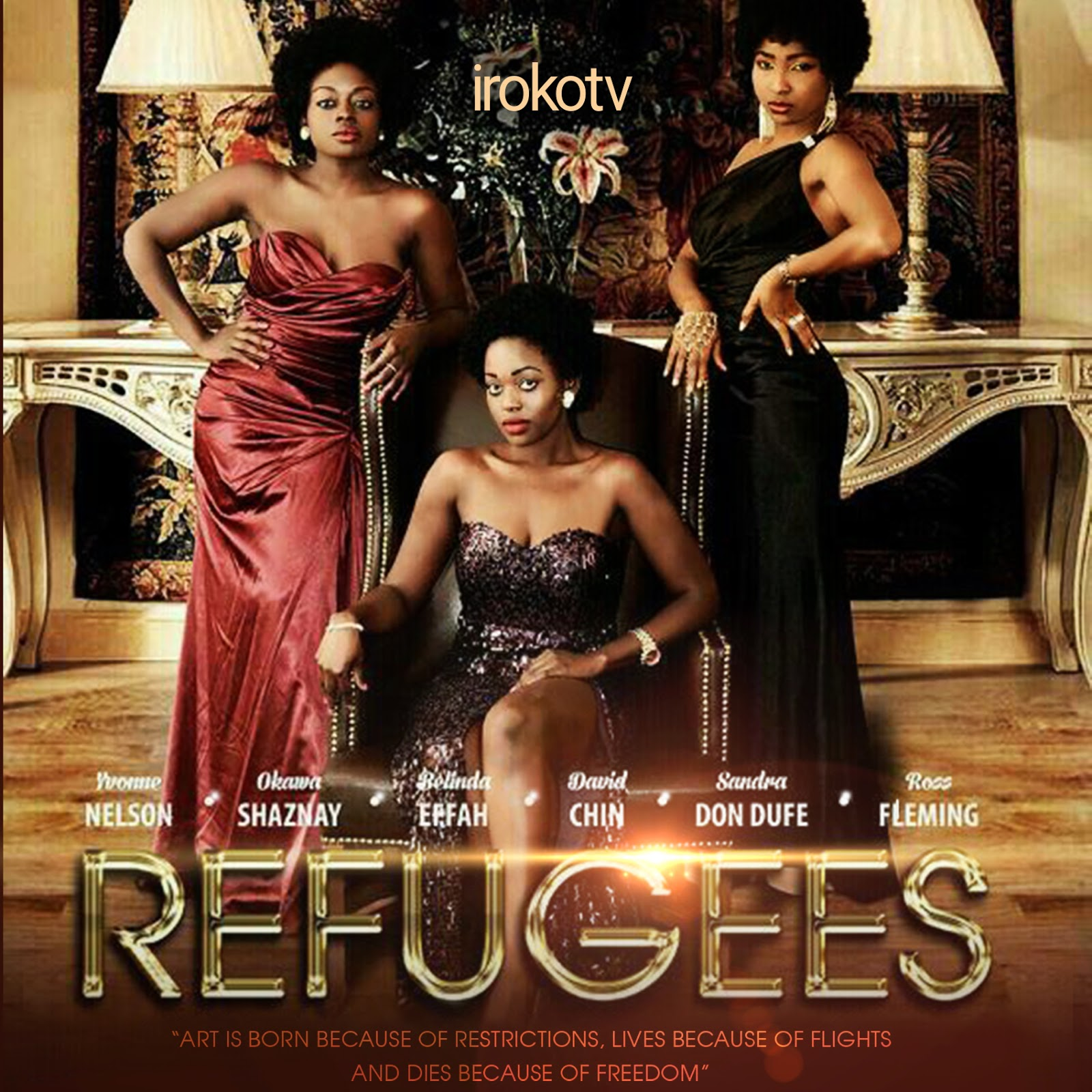 REFUGEES movie, now showing on Iroko Tv - NOLLY MOVIES PLANET