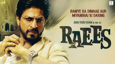 Raees (2017) 300mb Movie DvDScr