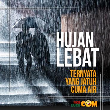 DP BBM Hujan Deras Gerak Animasi