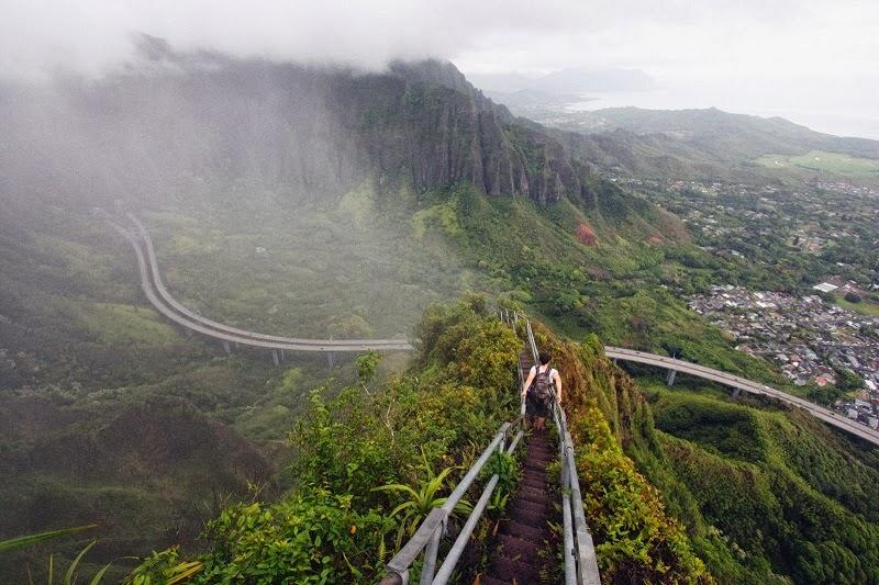 Haiku Stairs of Hawaii: The Stairway to Heaven