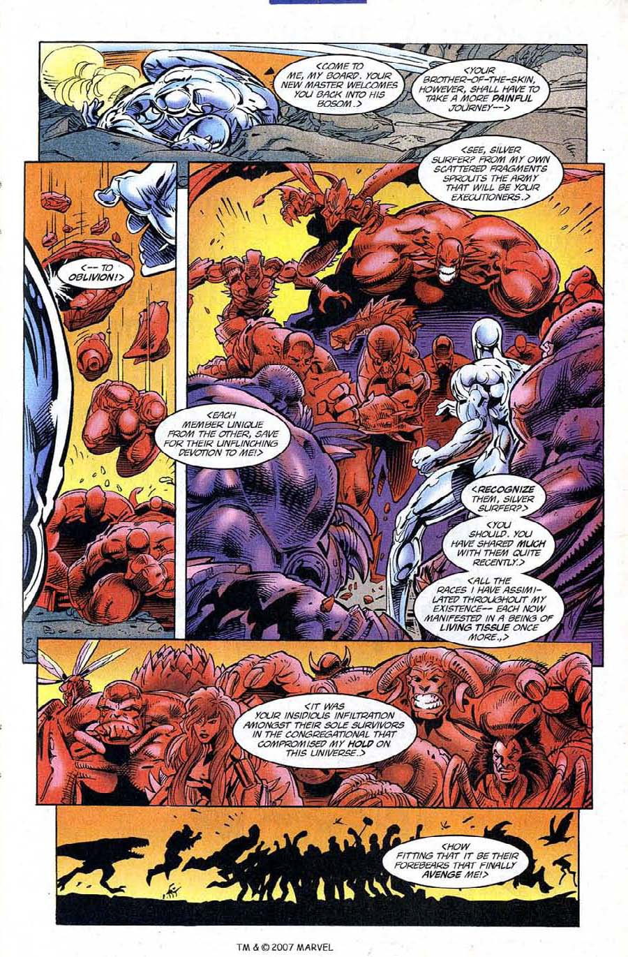 Read online Silver Surfer (1987) comic -  Issue #120 - 13