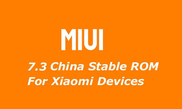 Download ROM Global Stable MIUI 7.3 untuk Mi5
