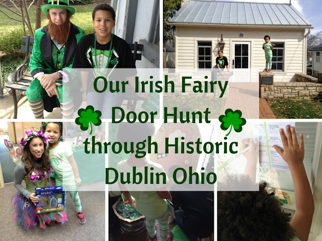 Our Irish Fairy Door Hunt Through Historic Dublin Ohio #SoDublin #IrishisanAttitude