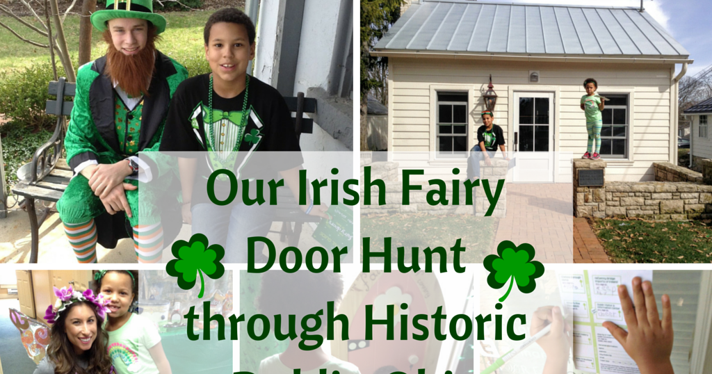 Our irish fairy door hunt through historic dublin ohio for My irish fairy door