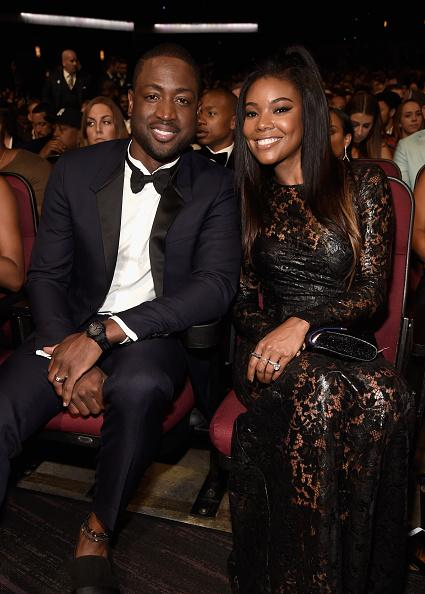 Gabrielle Union and Dwayne Wade at ESPYS