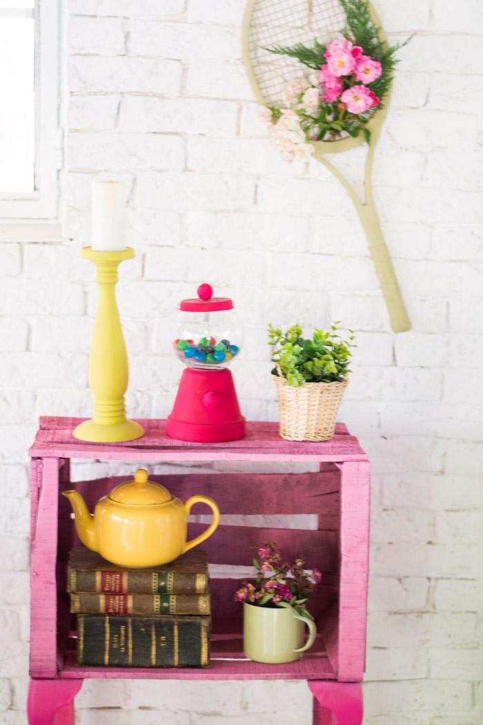 Mueble con caja de fruta diy la chimenea de las hadas for Muebles con cajas de fruta