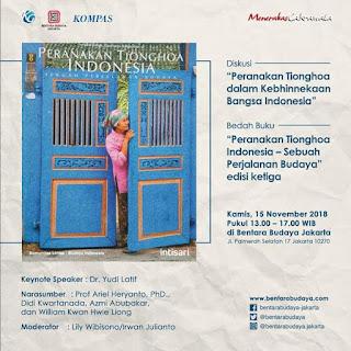 Diskusi: Peranakan Tionghoa Dalam Kebhinnekaan Bangsa Indonesia