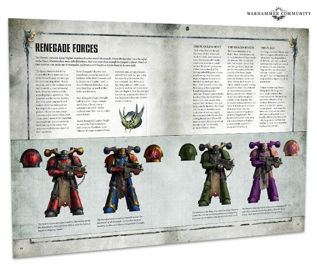 Fuerzas renegadas de Marines del Caos
