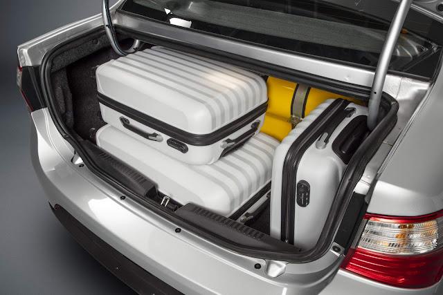 Fiat Grand Siena 2020 preparado de fábrica para GNV