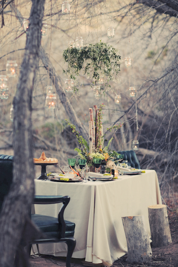 bride+groom+bridal+dress+gown+floral+hair+wreath+rustic+woodland+ecofriendly+eco+friendly+green+emerald+color+of+the+year+pantone+cake+dessert+table+reception+centerpiece+blue+hipster+fall+autumn+gideon+photography+45 - Woodland Fairytale