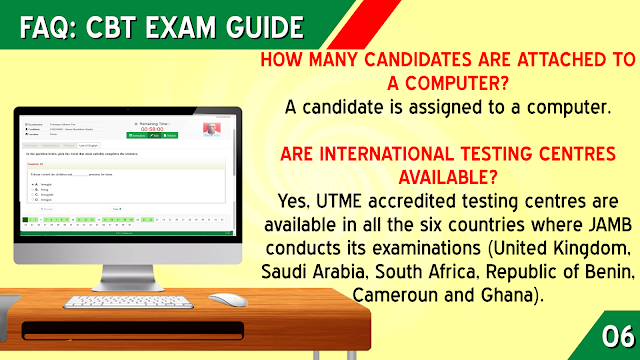 ARE INTERNATIONAL JAMB TESTING CENTRES AVAILABLE?