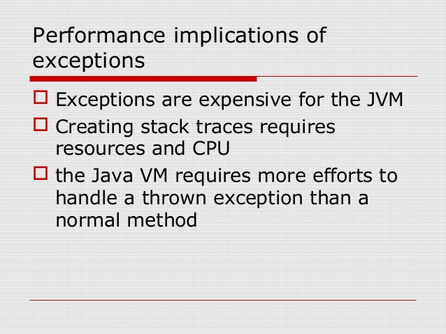 10 Java Exception and Error Interview Questions Answers